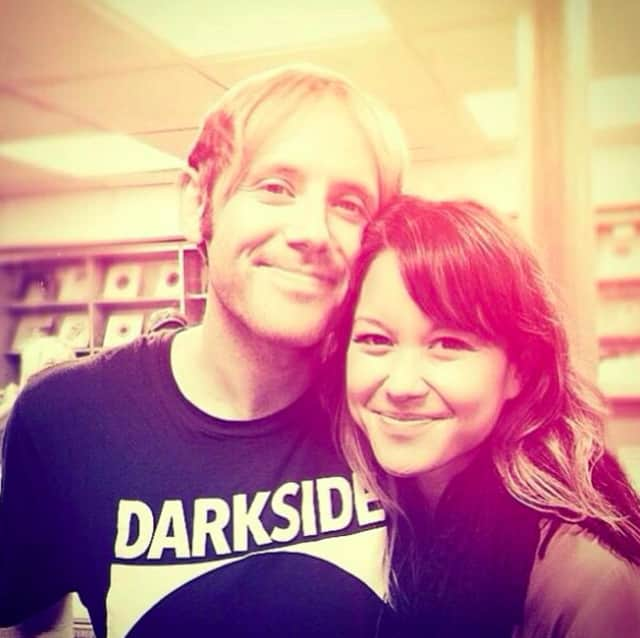 Dumont's Geoff Rickly with girlfriend and Food. Curated. founder Liza De Guia.