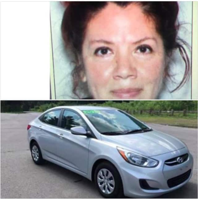 Rosa Valentin operates a 2015 Hyundai Accent bearing New York Registration HAY8282.