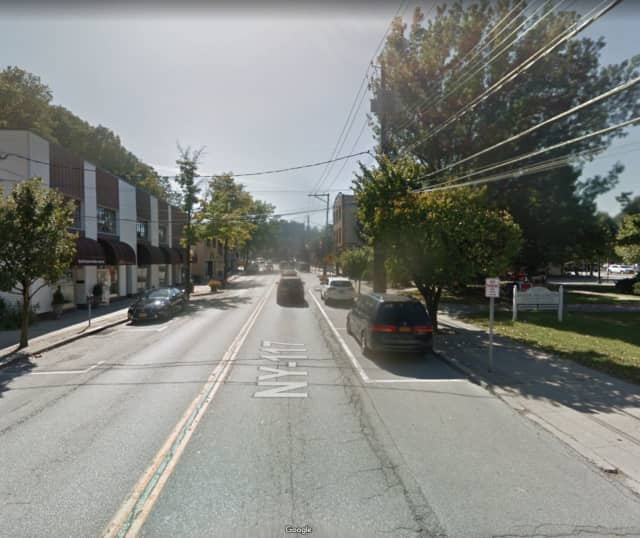 East Main Street in Mount Kisco.
