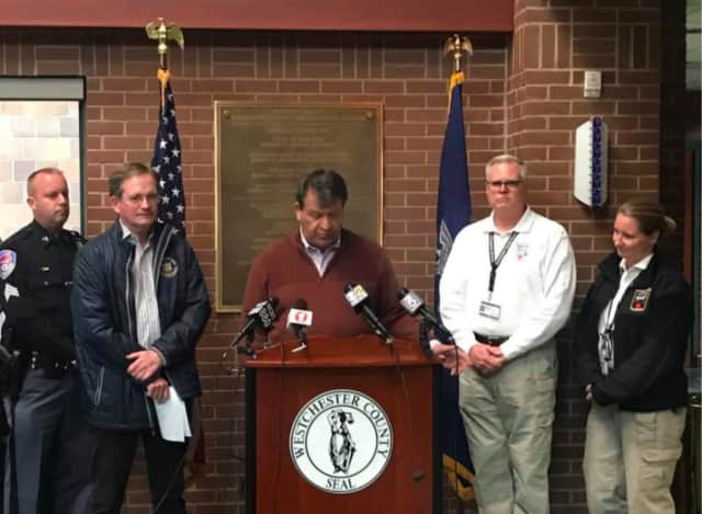 County Executive George Latimer signed a State of Emergency declaration for Westchester early Sunday evening as a result of power outages, impassable roads and other issues following Friday's Nor'easter.