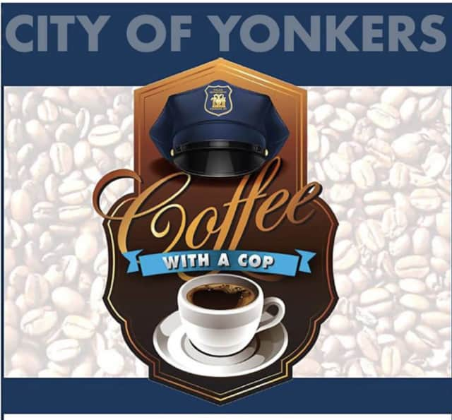 Join the Yonkers Police Department for a cup of coffee.