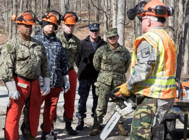 The New York National Guard is deploying to Rockland County to help with downed tree removal.