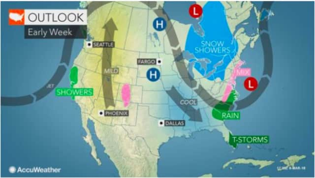 There is still much uncertainty surrounding the path of a possible Nor'easter that could affect the area early in the workweek.