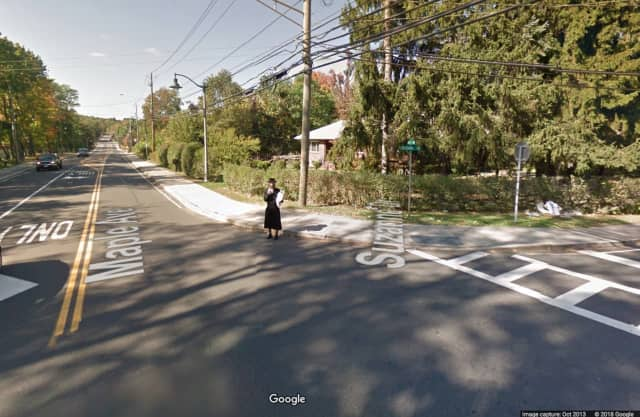 A 12-year-old boy was hit at the intersection of Suzanne Drive and Maple Avenue in Monsey.