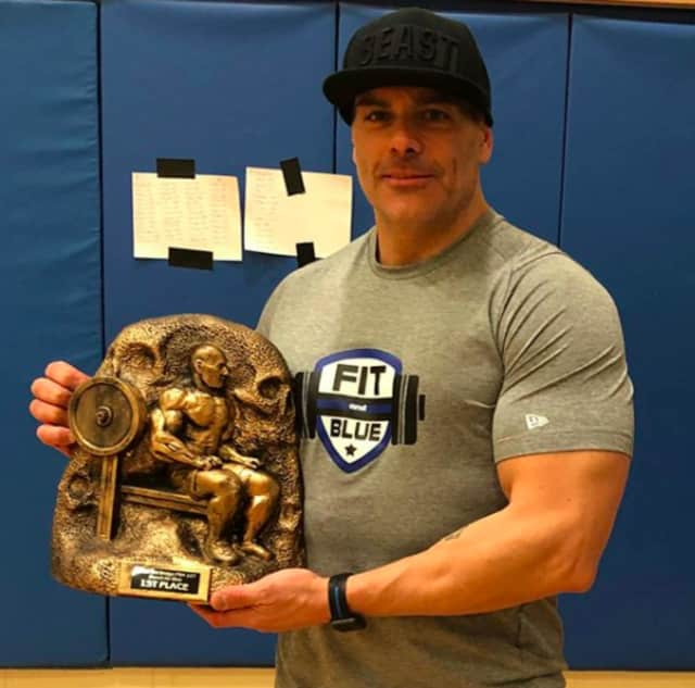 Fairview Police Chief Martin Kahn took first place at a bench press competition for law enforcement over the weekend.