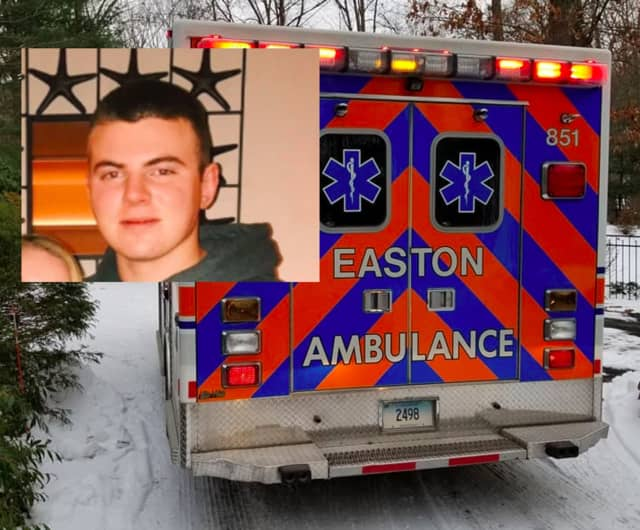Christopher Barlow is accused of taking inappropriate photos of passengers in Easton ambulances.