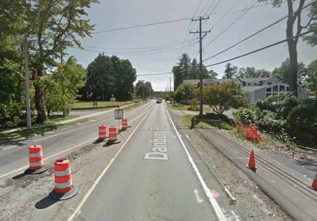 Route 35 in Ridgefield.