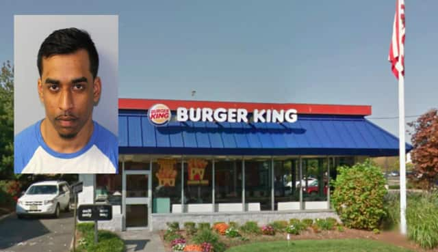 Aaron Sukhdeo, 27 of Bergenfield, burglarized 24 local businesses including Burger King between July and September 2017, police said.