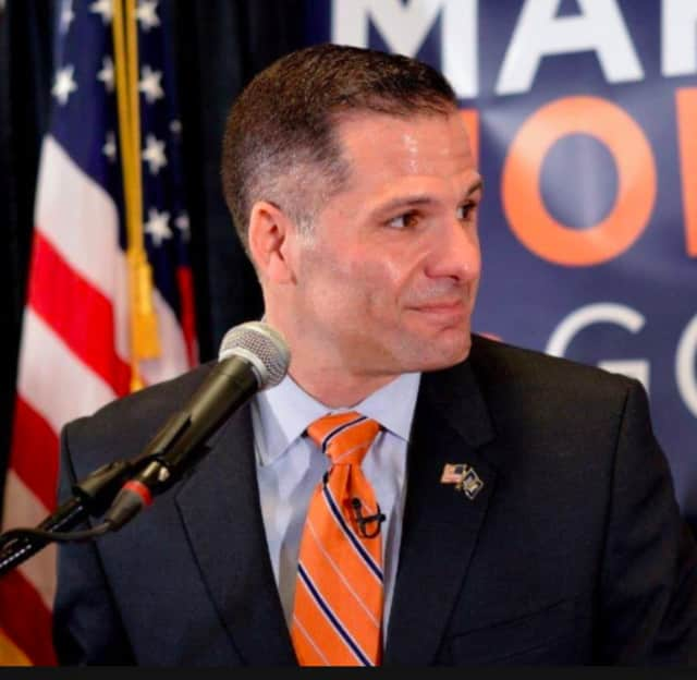 Marc Molinaro formally announced his run for governor on Monday.