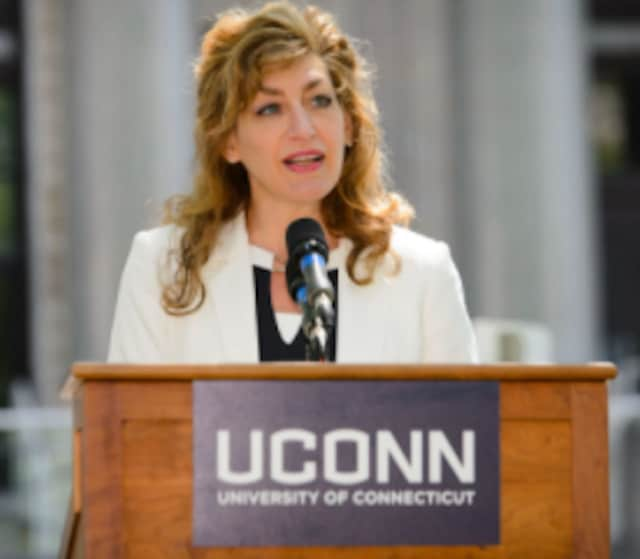 Susan Herbst is the 15th President of the University of Connecticut.