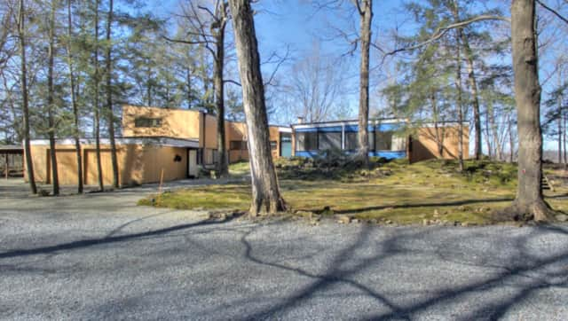 A classic Mid-century modern home is for sale in Poughkeepsie.