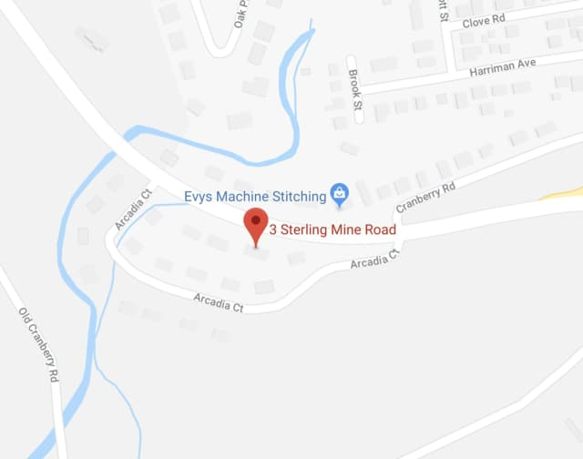 Sterling Mine Road is closed in Sloatsburg.
