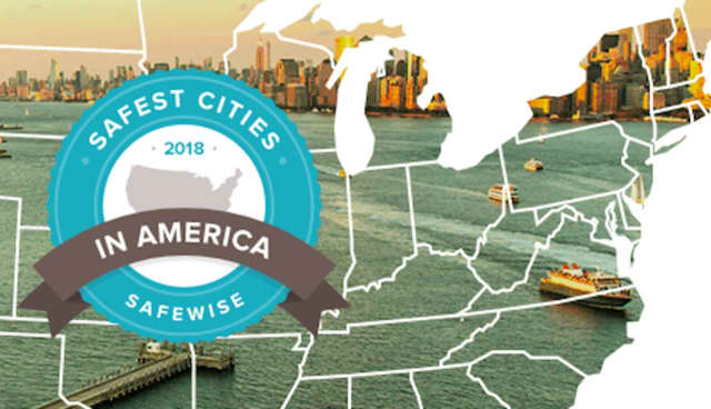 "Safewise.com released a report ranking the nation's 100 ""safest cities."""