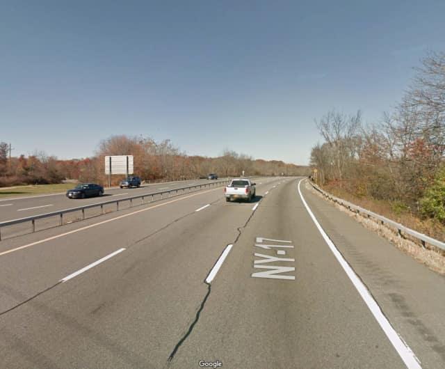 Route 17 in Goshen.