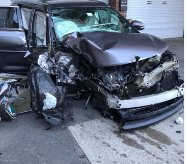 Two Bridgeport teens took police on a chase in a stolen car before crashing.