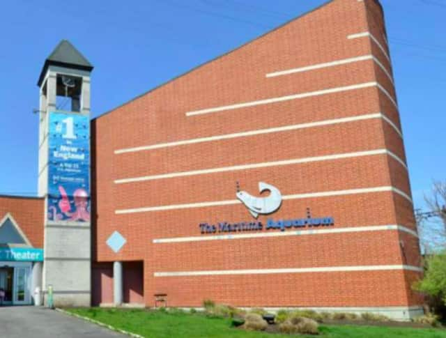The Maritime Aquarium at Norwalk where the state has agreed to replace an Imax theater due to the impact of a neareby bridge replacement project.
