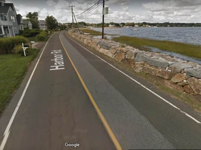 A Westport resident found a dead body that had washed ashore.