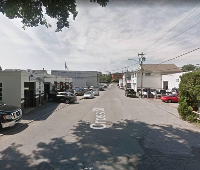 Cross Street in New Canaan.
