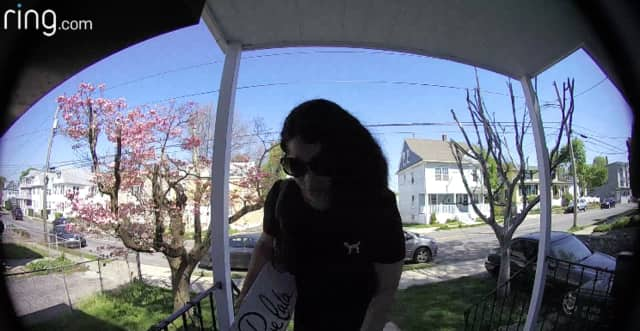 Police are asking for help identifying a woman who is stealing packages off porches.