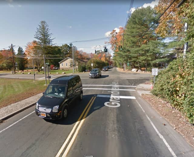 Grandview Avenue at Forshay Road in Ramapo.