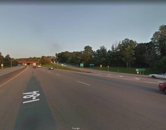 I-84 in Beacon.