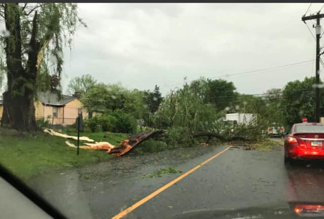 Northern Fairfield County was hit especially hard during the storm.