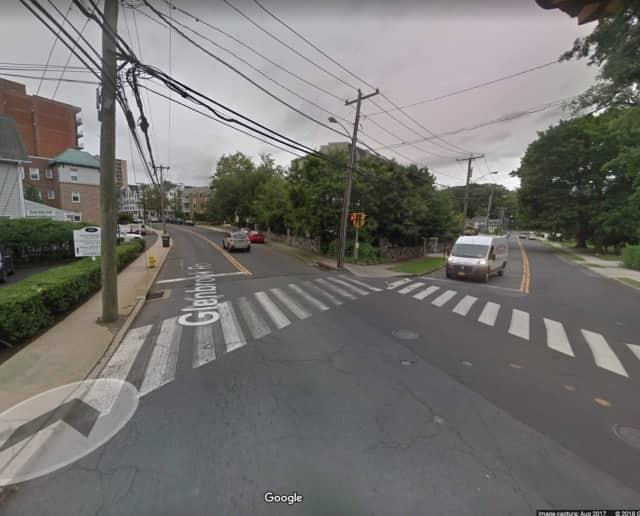 An 11-year-old boy was hit by a car on his way to his school bus.