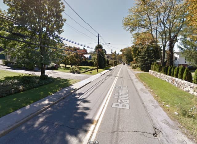 Babbitt Road in Bedford Hills.