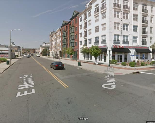 East Main Street at Quintard Terrace.