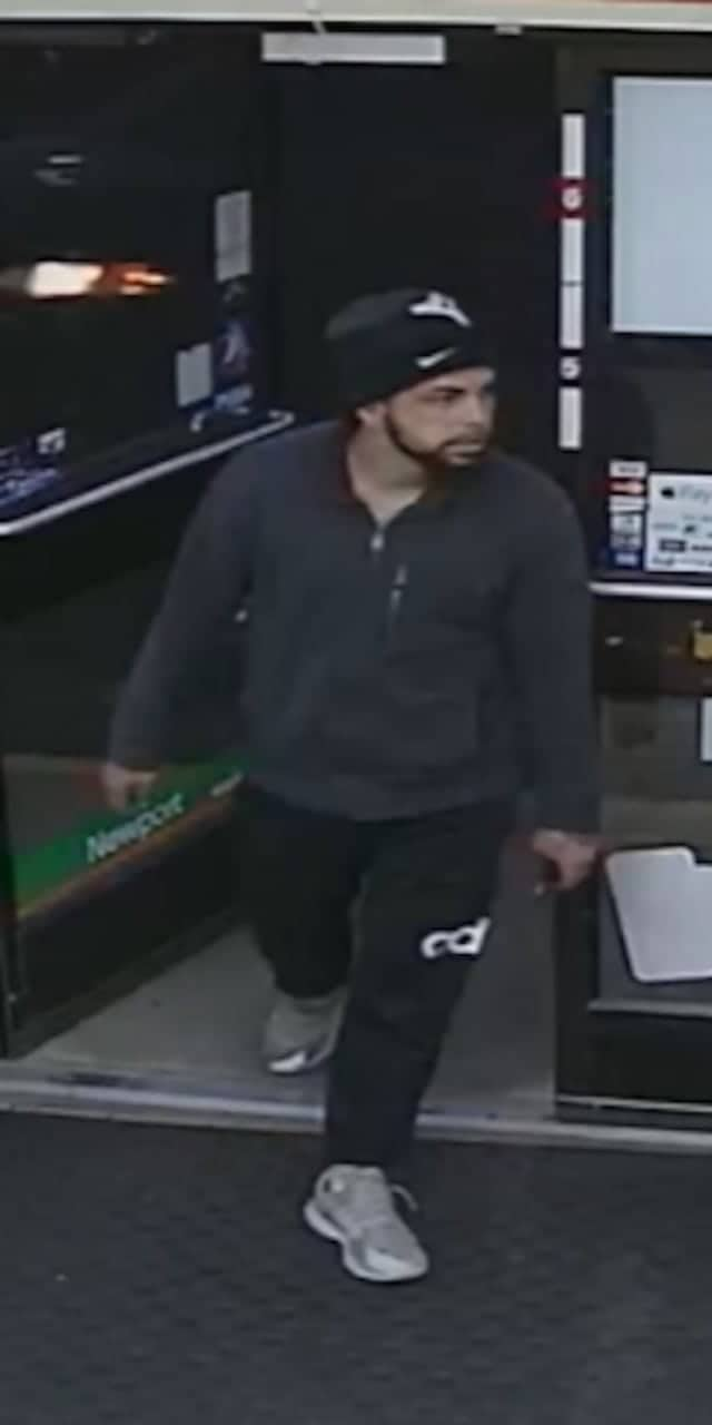 Police are asking for help identifying the man pictured.