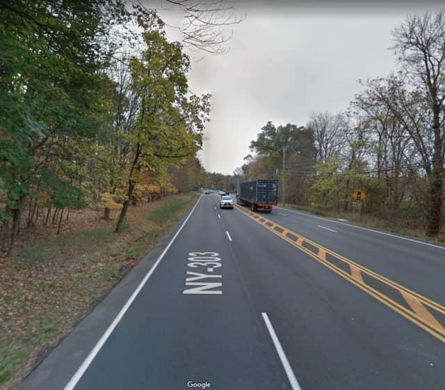 Route 303 in Blauvelt.