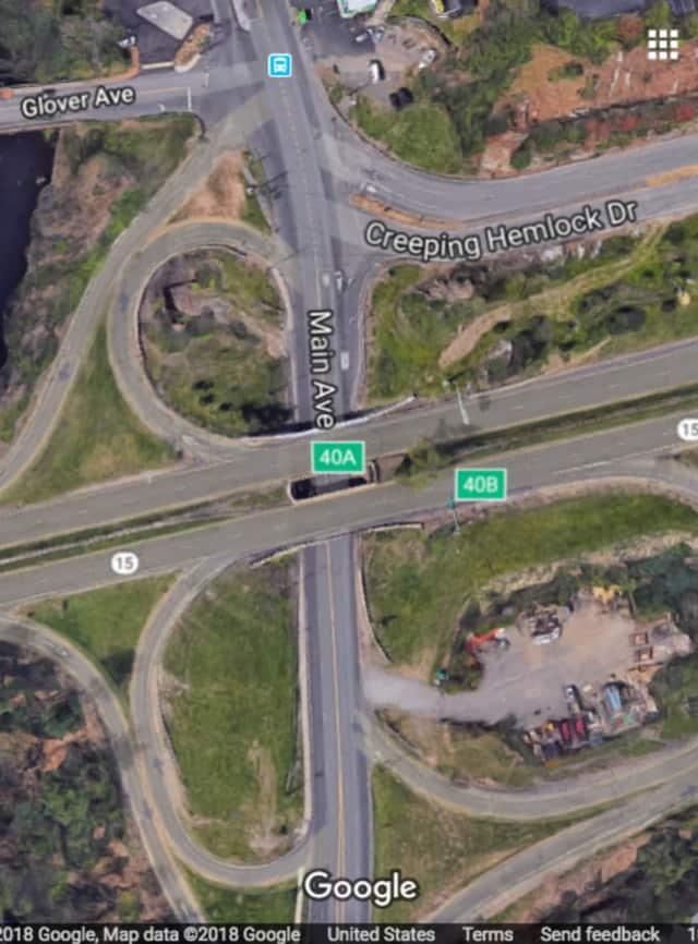 Merritt Parkway in Norwalk.