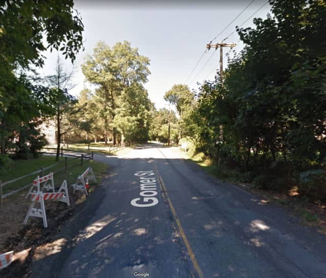 Gomer Street near Barway Drive in Yorktown Heights.