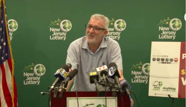 Tayeb Souami, 56 of Little Ferry, won the third-largest Powerball jackpot in state history in the May 19 drawing, New Jersey Lottery officials said.