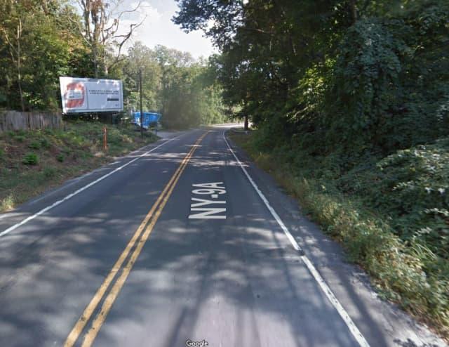 Route 9A in Cortlandt.