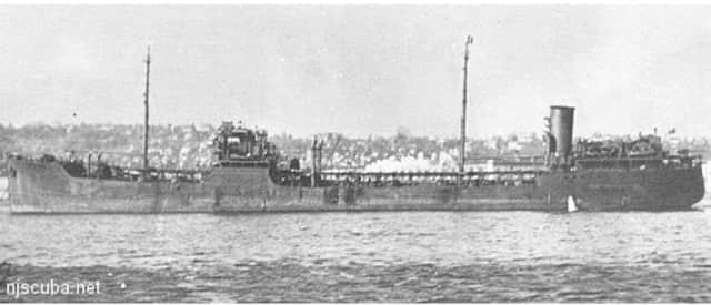 The Coimbra was sunk during World War II by a German U-boat.