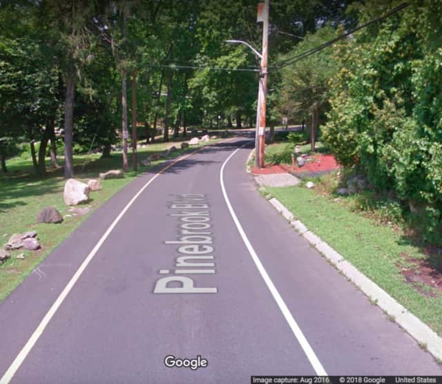 Pinebrook Boulevard in New Rochelle.