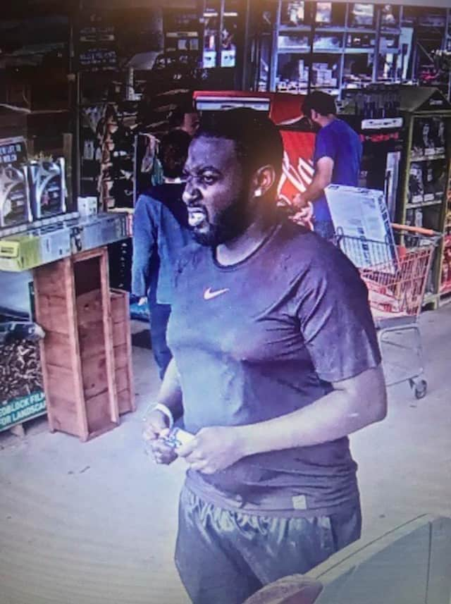 The above pictured individual is believed to have loaded a shopping cart with merchandise valued at more than $1,000 before leaving the store.