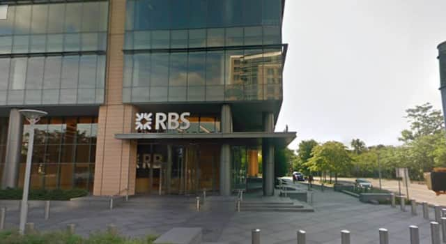 Royal Bank of Scotland's building at 600 Washington Blvd. in Stamford is up for sale.