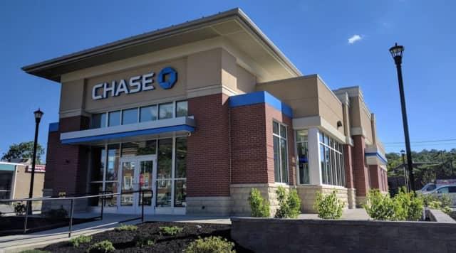 Chase Bank on Commerce Street in Yorktown.