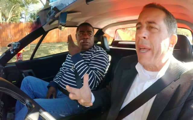 "Tracy Morgan joins Jerry Seinfeld in a Bergen County episode of ""Comedians in Cars Getting Coffee."""