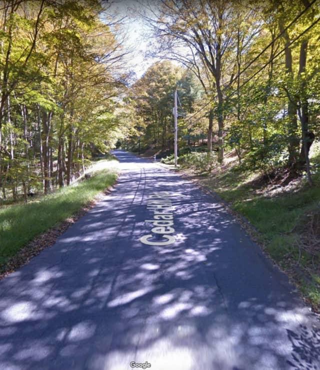 Cedar Hill Road.