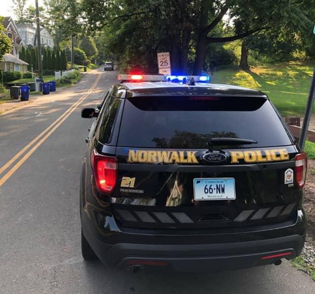 Norwalk Police arrested a Bridgeport man for violating a protective order.