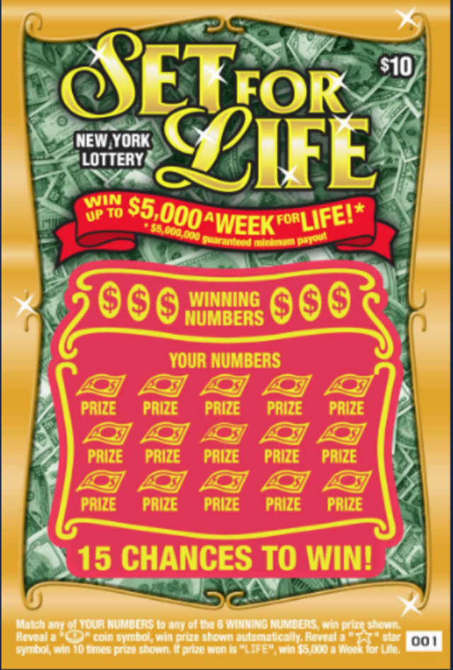 Two friends won $5 million on a Set for Life lottery ticket.