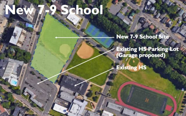 More than half of the funds for the new referendum ($97.8 million) would go toward building the 195,000-square-foot school next to Hackensack High School.