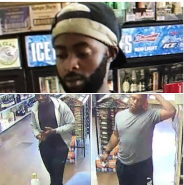 Three people of interest in connection to a car burglary spree are at large and the Wilton Police Department is asking the people's help in identifying them.