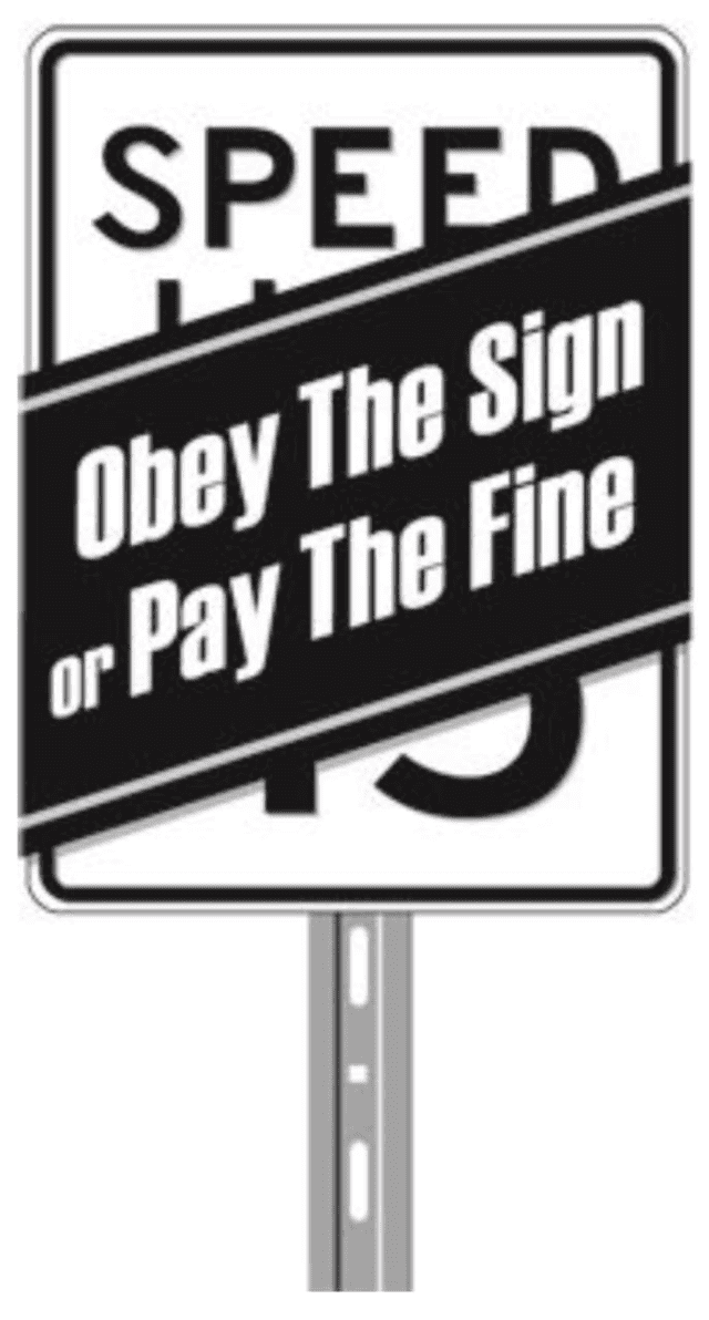 "Police in New Rochelle have a message to motorists: ""obey the sign, or pay the fine."""