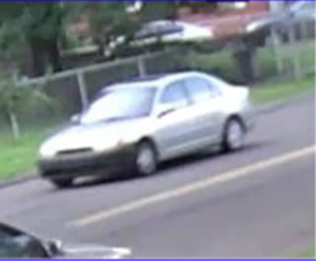 The vehicle Stratford Police believe was involved in the shooting.