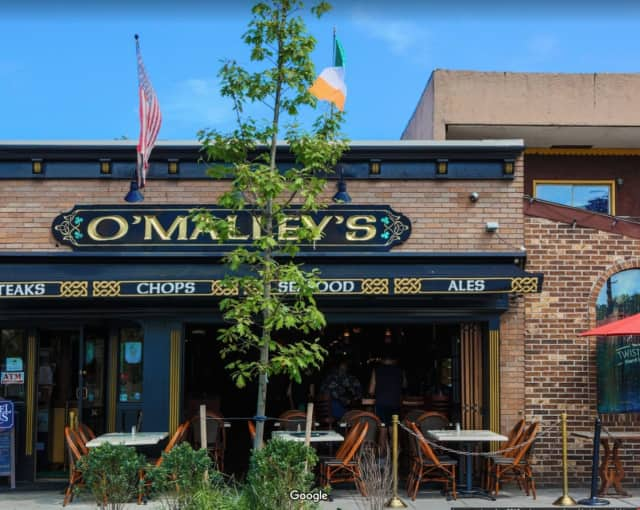 A man was stabbed at O'Malley's in Nyack while trying to help a woman being hit.