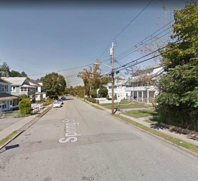 Spring Street in Mount Kisco.
